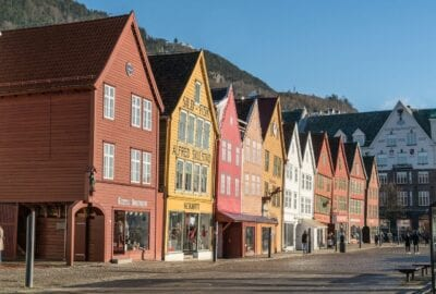 Bergen Noruega Arquitectura Noruega