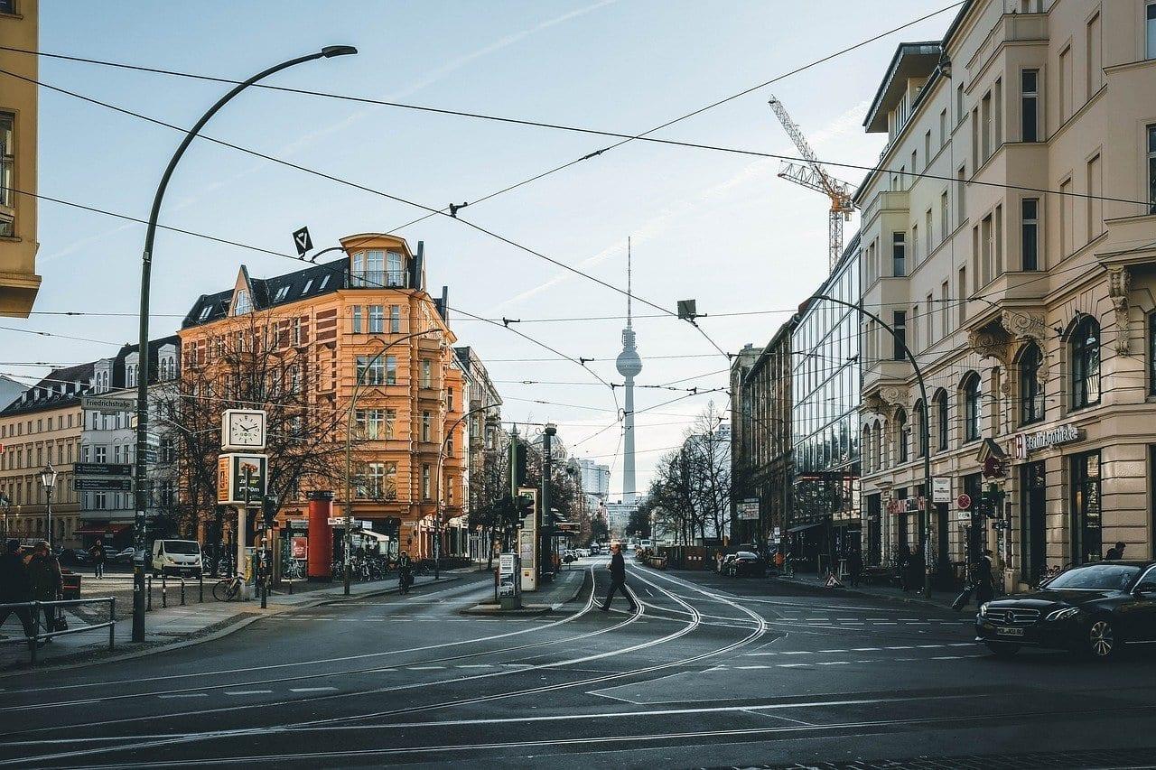 Berlín Centro De La Ciudad De La Ciudad Alemania