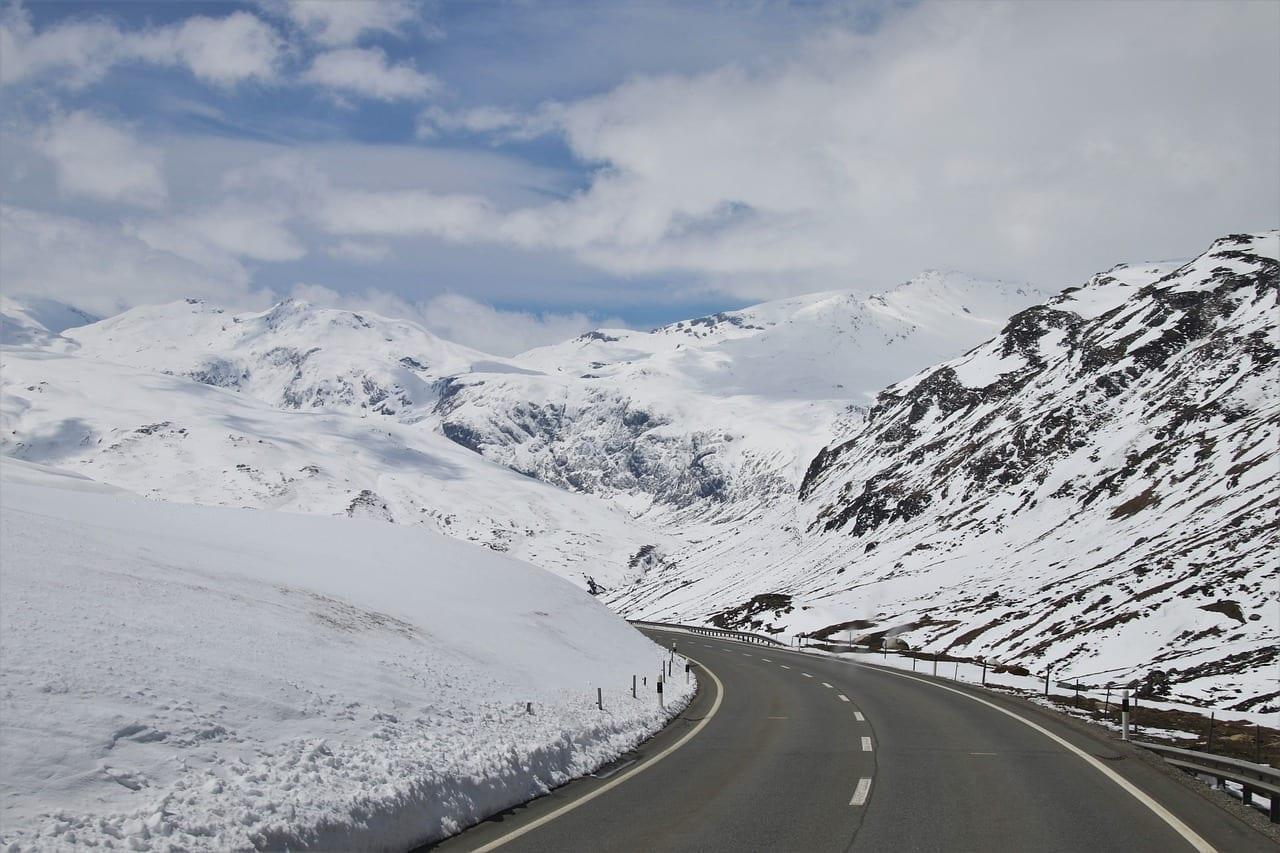 Biel La Nieve Montañas Suiza
