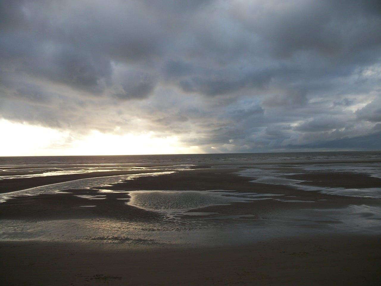 Blackpool Playa Tormenta Reino Unido