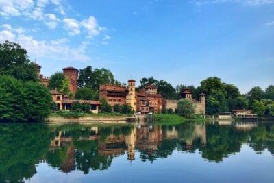 Borgo Medievale Turín Italia