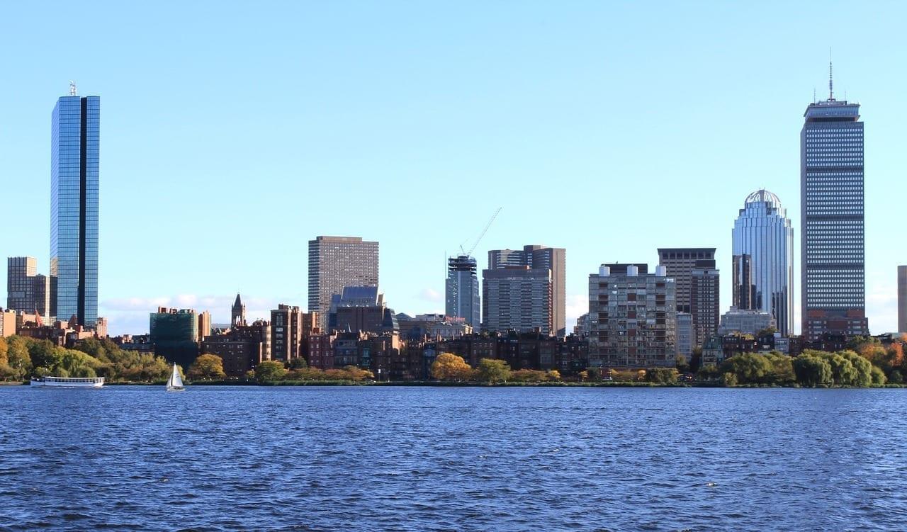 Boston Centro De La Ciudad Massachusetts Estados Unidos