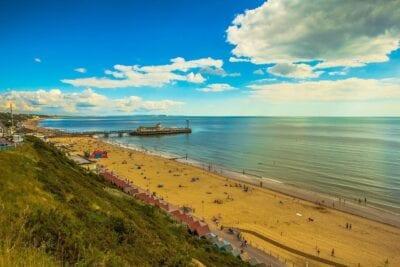 Bournemouth Costa Playa Reino Unido