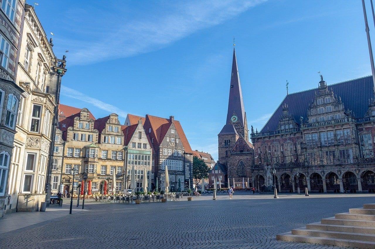 Bremen Centro Historico Lugares De Interés Alemania