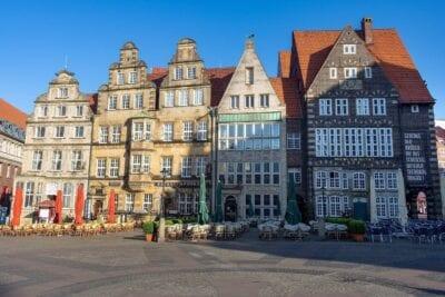 Bremen Mercado Centro Historico Alemania