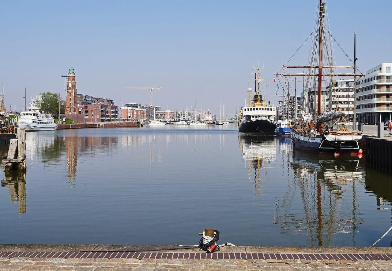 Bremerhaven Puerto Interior Seeschleuse Alemania