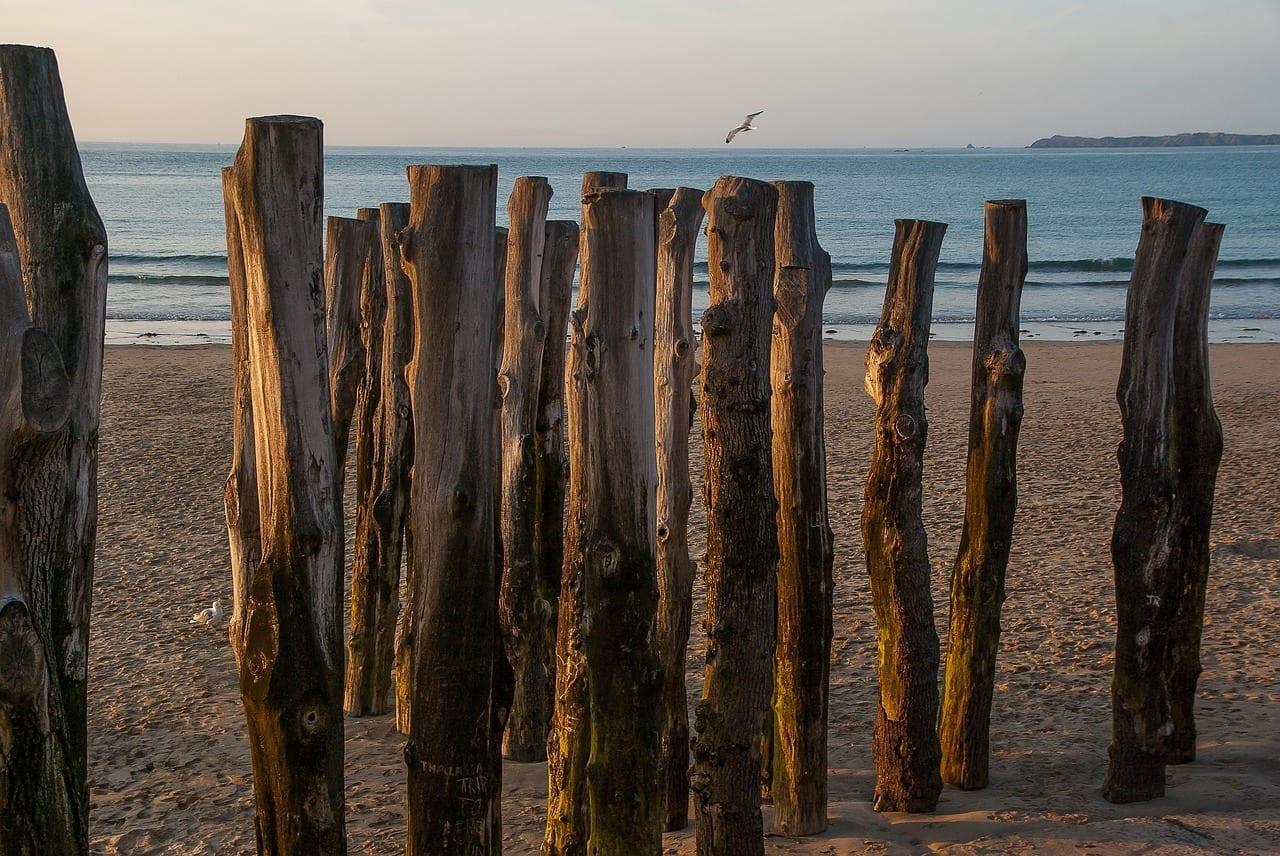Bretaña Saint Malo Playa Francia