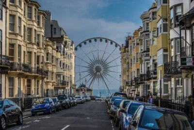 Brighton Calle De Viaje Reino Unido