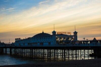 Brighton El Turismo Paseo Marítimo Reino Unido