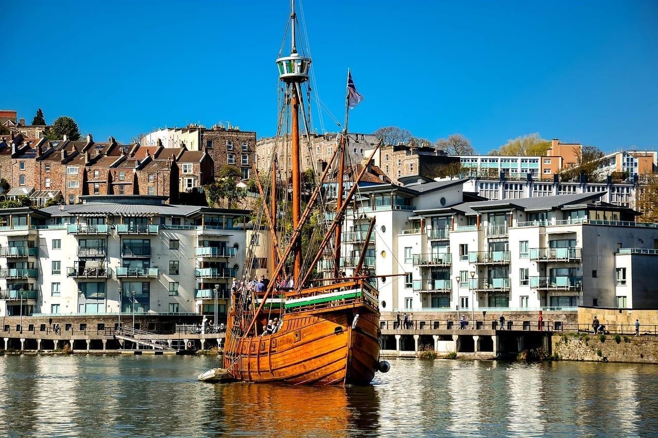 Bristol Puerto Barco Reino Unido