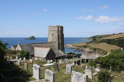Britannia Cementerio Plymouth Bay Reino Unido