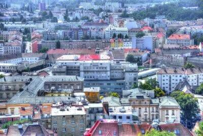 Brno Aire Ciudad República Checa