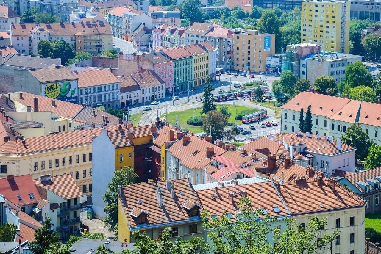 Brno Ciudad Centro De La Ciudad República Checa