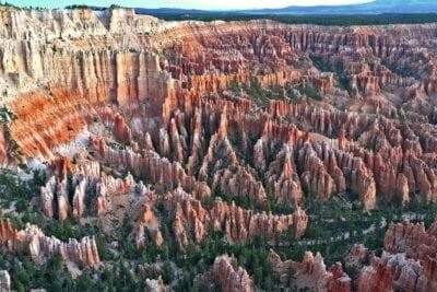 Bryce Canyon desde el borde del cañón Bryce Canyon Parque Nacional Estados Unidos