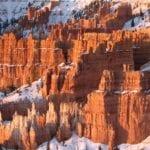 Bryce Canyon en la nieve Bryce Canyon Parque Nacional Estados Unidos