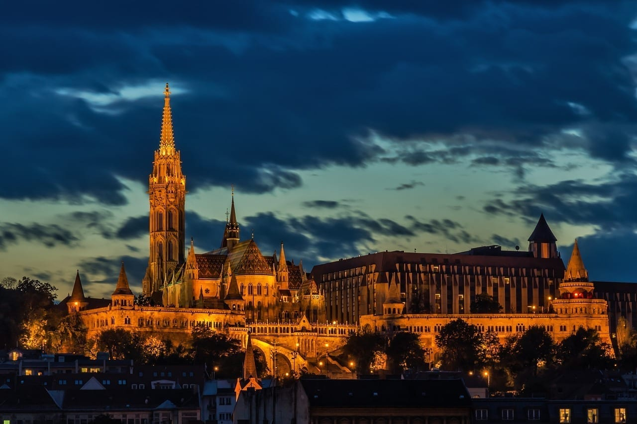 Budapest Iglesia Arquitectura Hungría