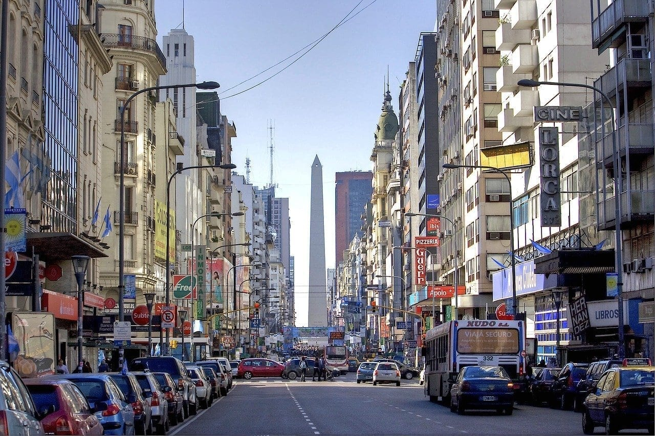 Buenos Aires Argentina Obelisco Argentina