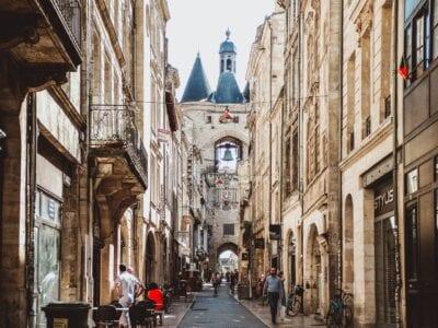 Burdeos Francia Edificio Francia