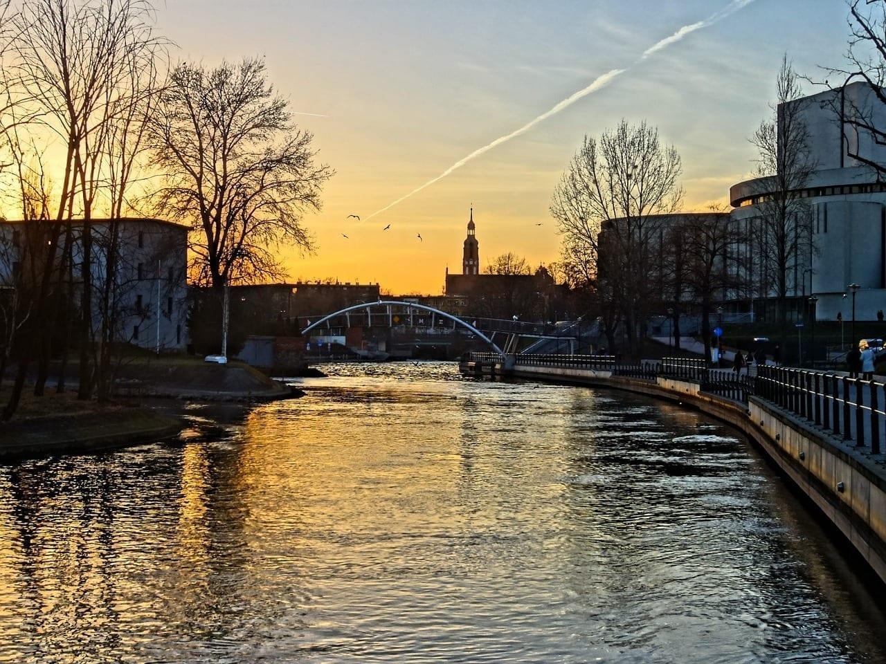 Bydgoszcz Brda Río Polonia