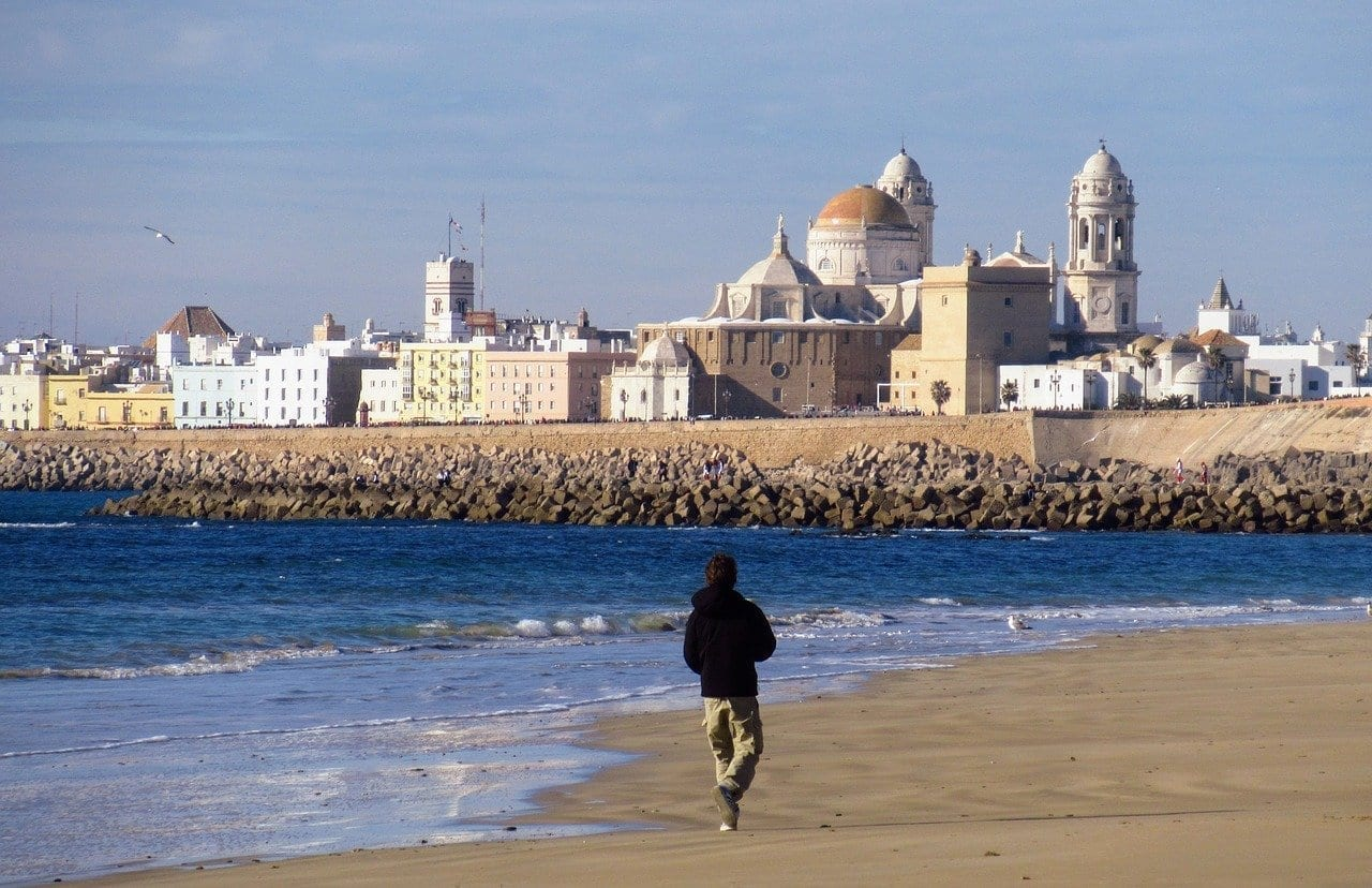 Cádiz Playa Catedral España