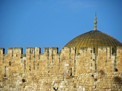 Cúpula De La Roca Jerusalén Israel Israel