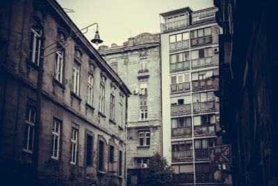 Calle Serbia Belgrado Serbia