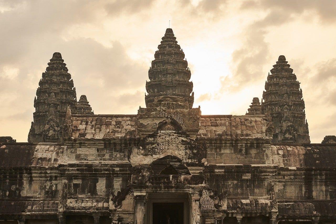 Camboya Siem Reap En Camboya