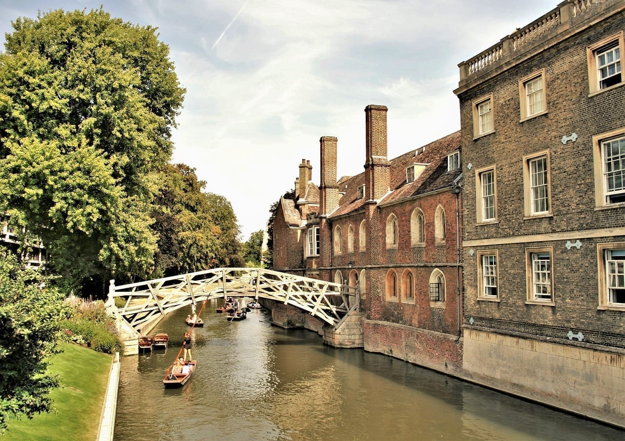 Cambridge Universidad De Cambridge Puente Matemático Reino Unido