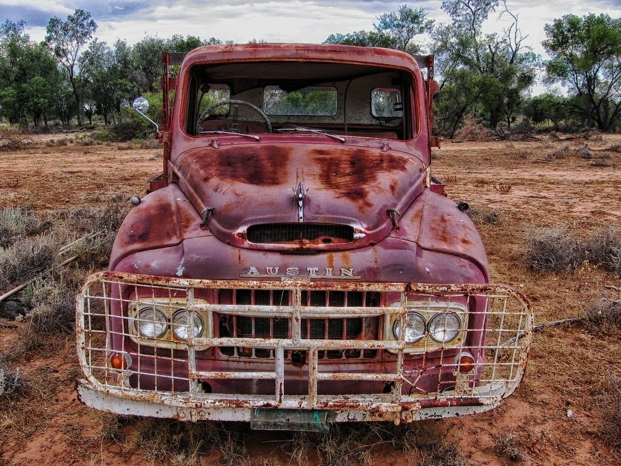 Camión De Austin Camión Recogida Estados Unidos
