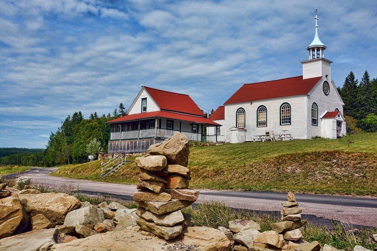 Canadá Iglesia Nuevo Brunswick Alemania