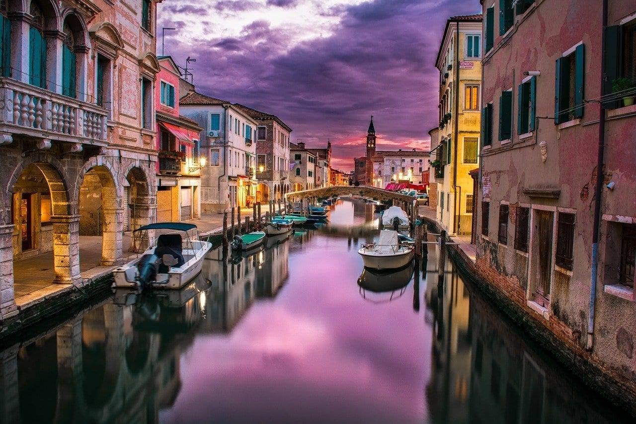 Canal Venecia Italia Italia