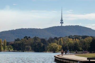 Canberra El Agua Lago Australia