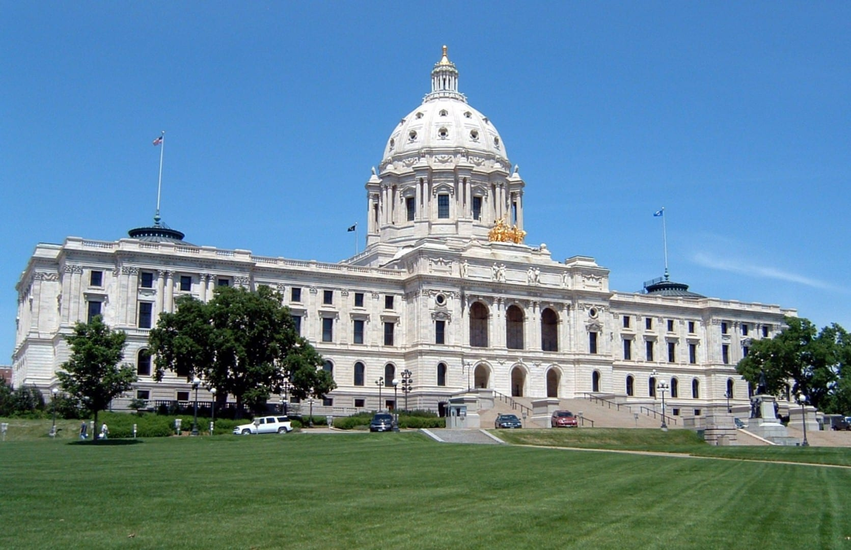 Capitolio del Estado de Minnesota Saint Paul MN Estados Unidos
