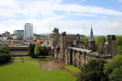 Cardiff Gales Castillo Reino Unido