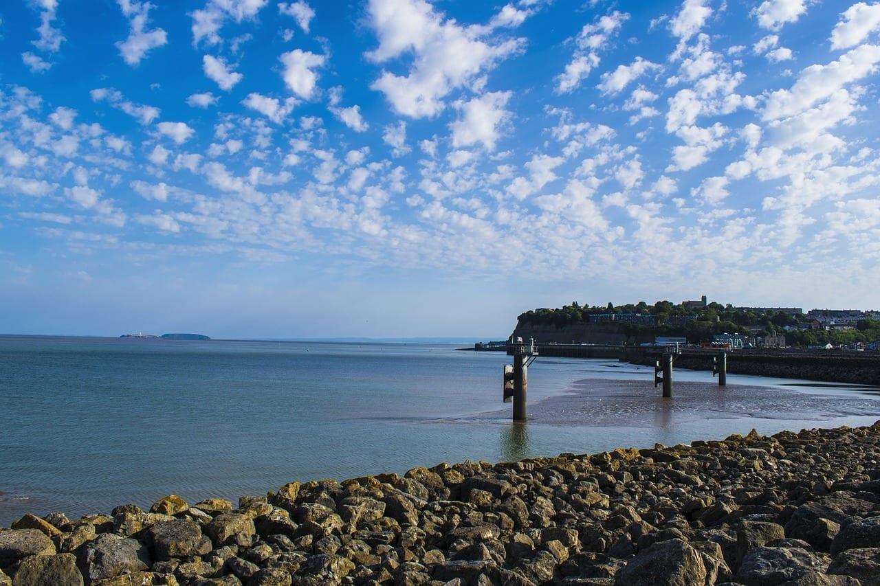 Cardiff La Bahía De Cardiff Mar Reino Unido