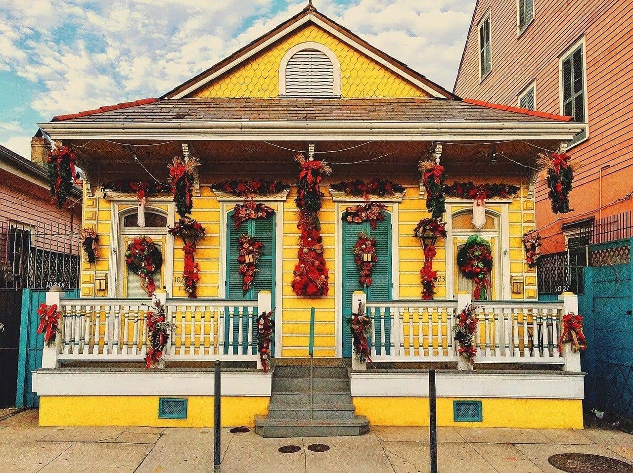 Casa Decorado Nueva Orleans Francia