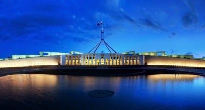 Casa del Parlamento en Canberra Canberra Australia