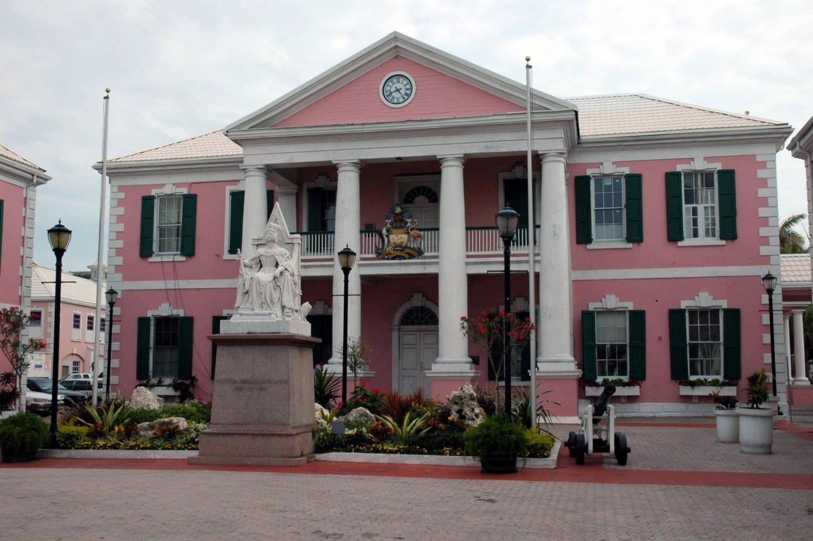 Casa del Parlamento Nassau Bahamas