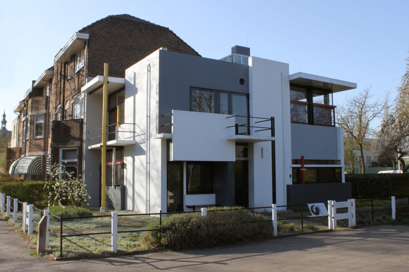 Casa Rietveld Schröder Utrecht Países Bajos