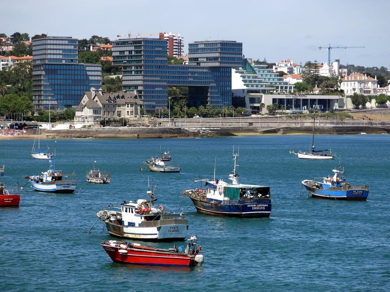 Cascais Portugal Barco Portugal