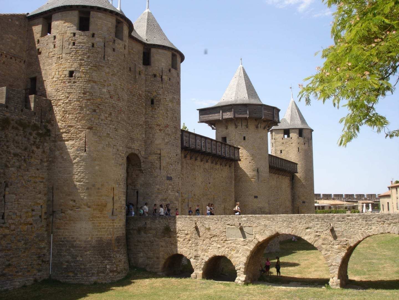 Castillo Comtal Carcassone Francia