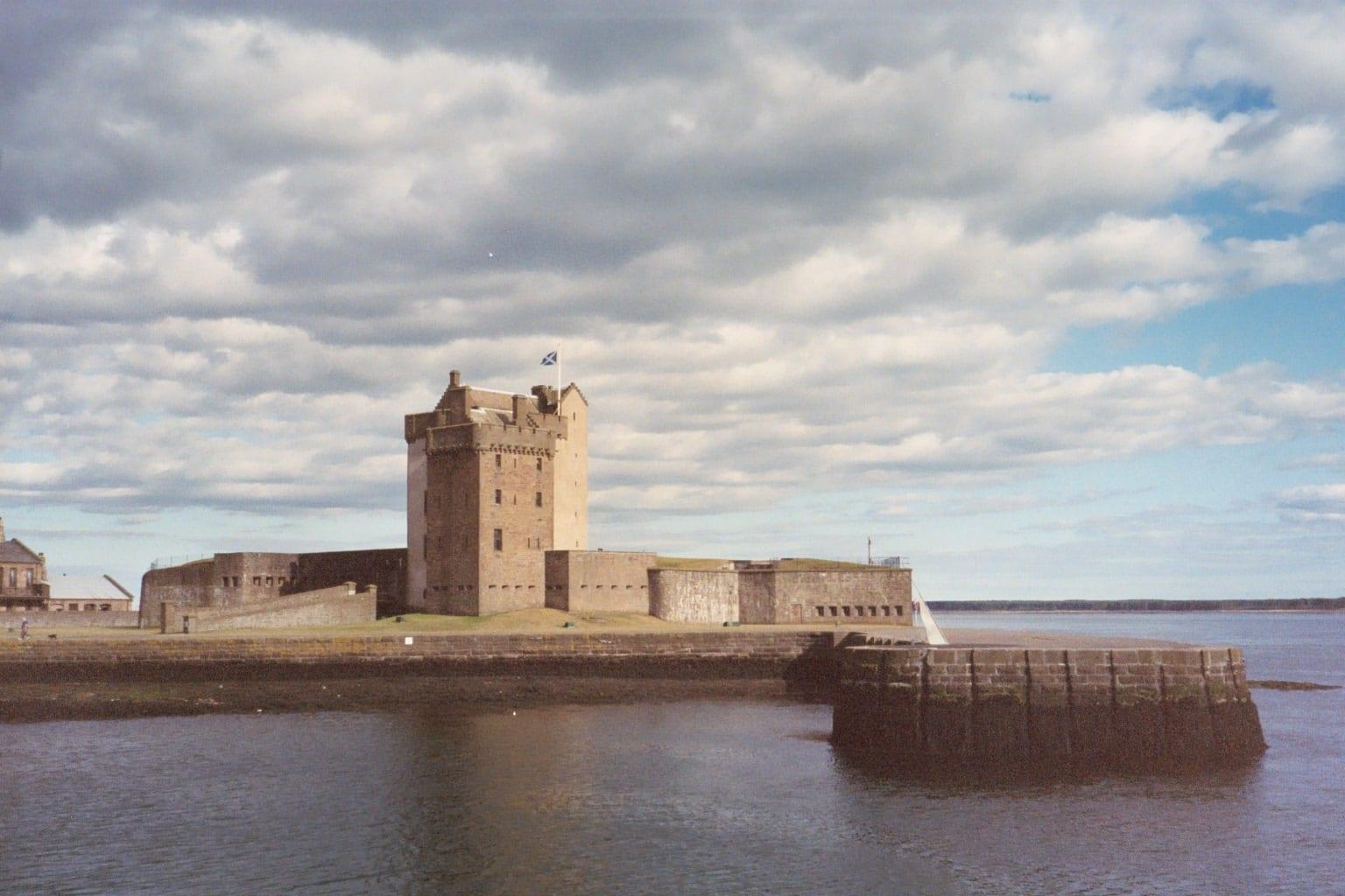 Castillo de Broughty Dundee Reino Unido