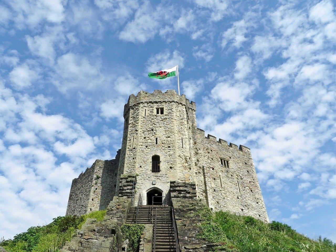 Castillo De Cardiff Castillo Torre Reino Unido