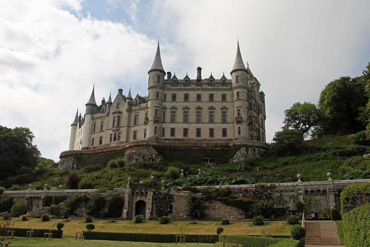 Castillo De Dunrobin Inverness Escocia Reino Unido