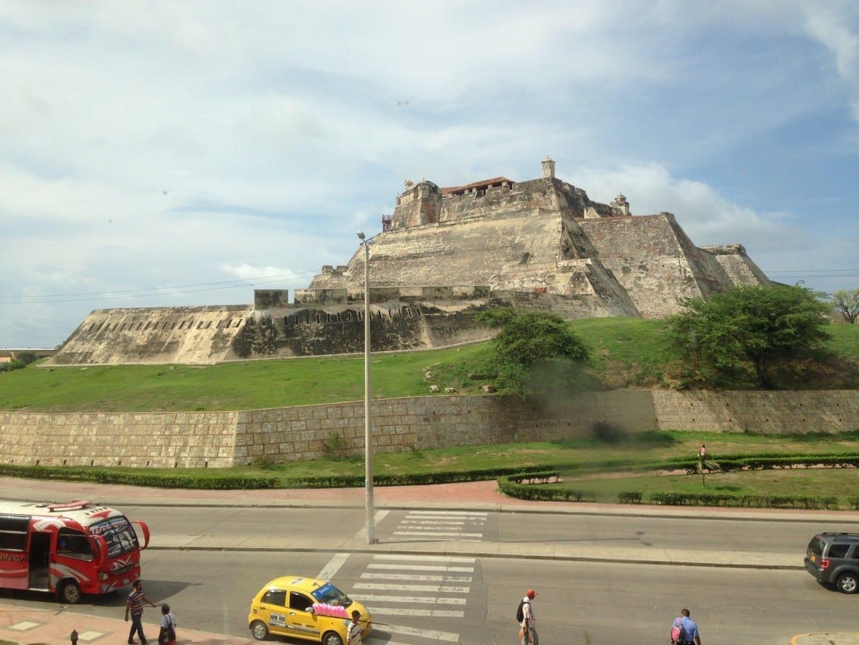 Castillo de San Felipe Cartagena de Indias Colombia