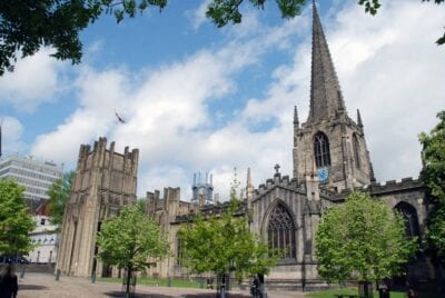 Catedral Anglicana Sheffield Reino Unido