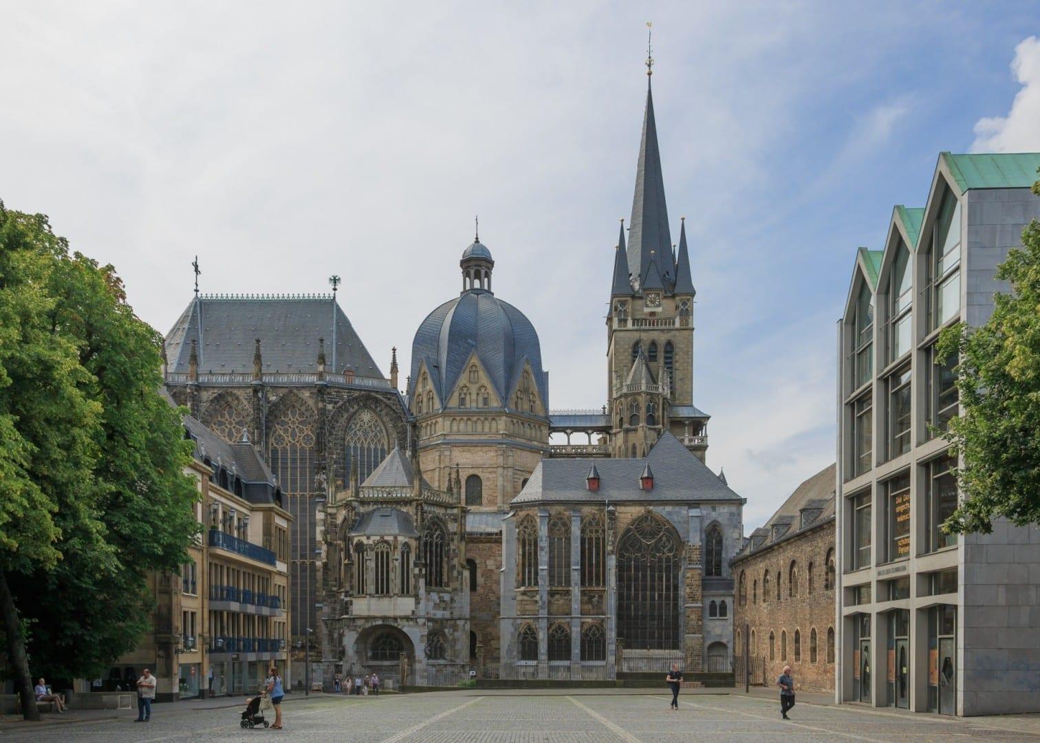 Catedral de Aachen Aquisgrán Alemania