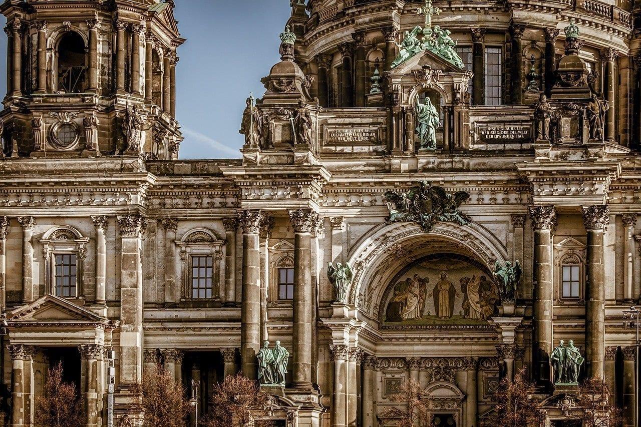 Catedral De Berlín La Construcción De Arquitectura Alemania
