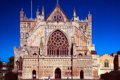 Catedral de Exeter Exeter Reino Unido