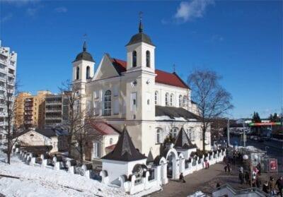 Catedral de los Santos Pedro y Pablo Minsk Bielorrusia